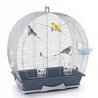 Savic ЭВЕЛИН 50 клетка для птиц, серый, 70Х36Х73 см