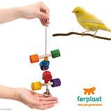 Деревянная игрушка для птиц, Ferplast PA 4091 , фото 2