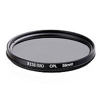 Поляризационный фильтр RISE CPL 58 mm