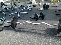 Маты спортивные резиновые 1200х1800х15 мм ЭПДМ 10% цвет