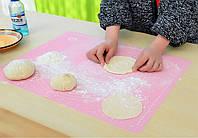 Силиконовый коврик для теста и выпечки 40 на 50 см