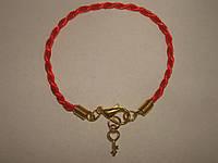 Браслет Красная нить Каббала «Золотой Ключик», фото 1