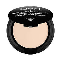 NYX SMP 01.3 Stay Matte But Not Flat Powder Alabaster - Матирующая пудра для лица, 7.5 г