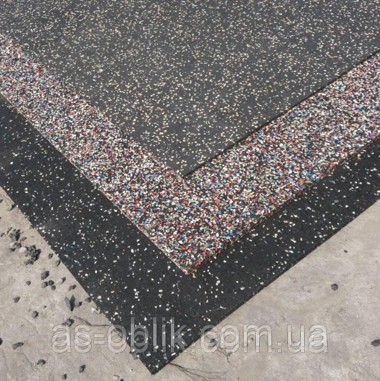 Гумове покриття навколо басейнів 1200х1800х20 мм ЕПДМ 10% колір
