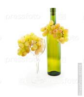 Вино белое сухое от Венгрерских виноробов 750мл.