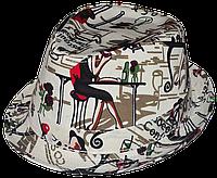 Шляпа модная  летняя трилби  Матрини