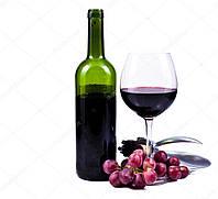 Красное сухое вино от Венгерских виноробов 750мл.