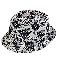 Шляпа модная, современная  летняя трилби  Африка