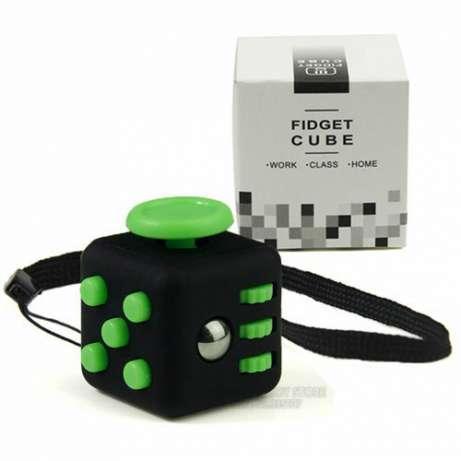 Антистрессовый кубик, FIDGET CUBE, фиджеткуб, непоседа-куб (2,2x2,2см)