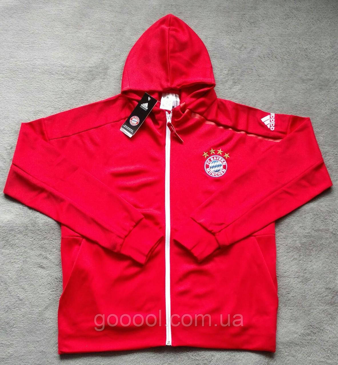 7622625744036 Олимпийка мужская с капюшоном Adidas Hoodie FC Bayern München 2016 ...