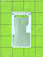 Держатель SIM1, SIM2 карты Xiaomi Redmi 4 Prime Оригинал Серебристый