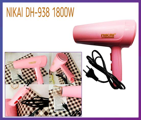 Фен для волос Nikai DH-938 1800W, фото 2
