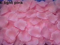 Лепестки роз искусственные. Нежно-розовые