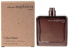 Calvin Klein Euphoria Men Intense туалетная вода 100 ml. (Тестер Кельвин Кляйн Эйфория Мен Интенс)