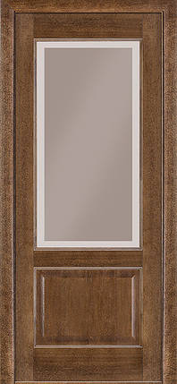 Двері Terminus Classic модель №04 ПГ/З (дуб браун), фото 2