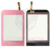 Сенсорный экран для мобильного телефона Samsung C3300, розовый
