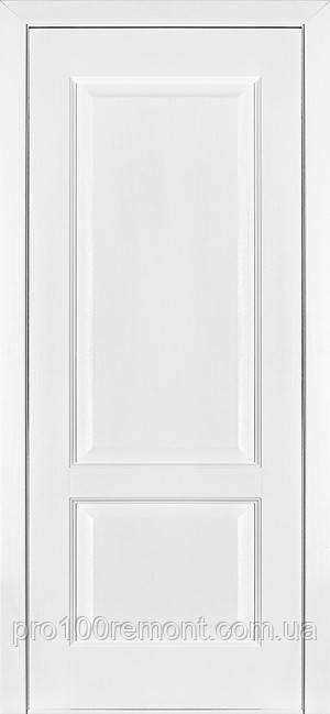 Двери Terminus Classic модель №04 ПГ/ПО (ясень белый Эмаль, ясень Crema)