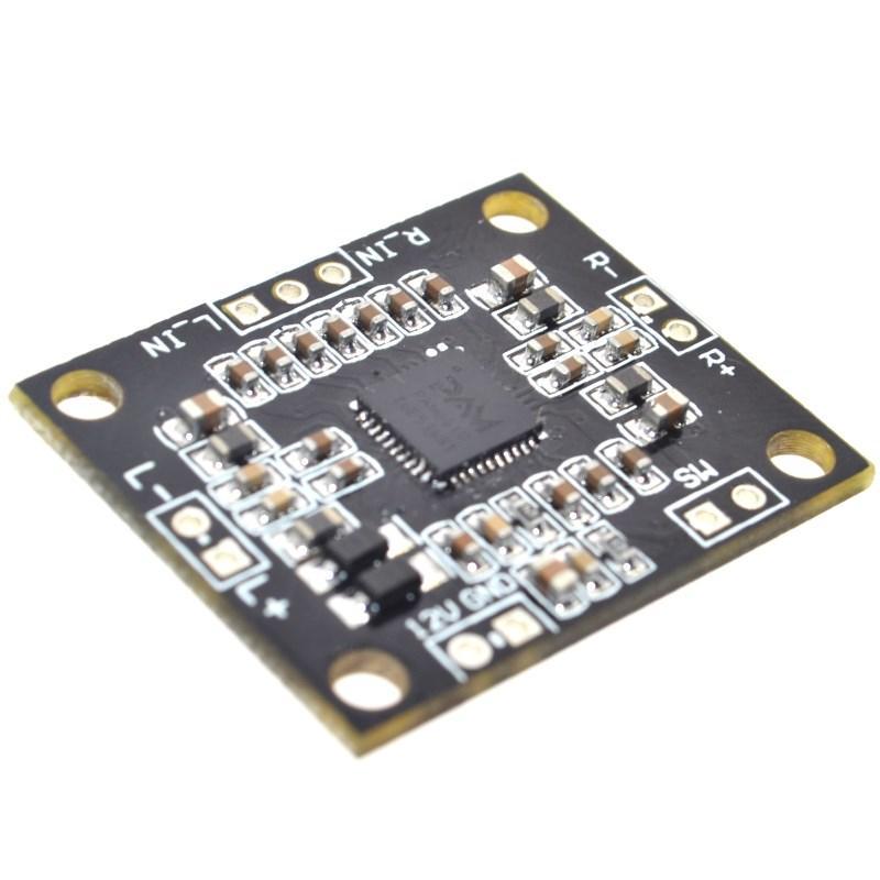Підсилювач звуку 2х15W клас D, модуль PAM8610