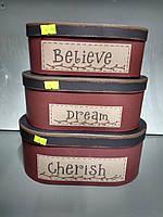 "Коробка подарочная ""Believe"""