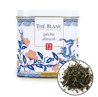 Органический белый чай  с ароматом персика и абрикоса ,40г Terre d'Oc