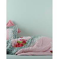 Постельное белье Karaca Home Luci розовое ранфорс подростковое