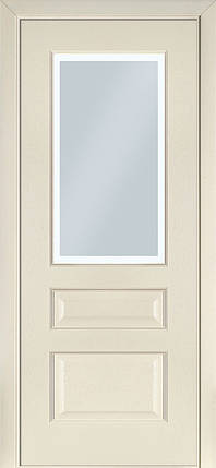 Двери Terminus Classic модель №102 ПГ/ПО (ясень белый Эмаль, ясень Crema), фото 2
