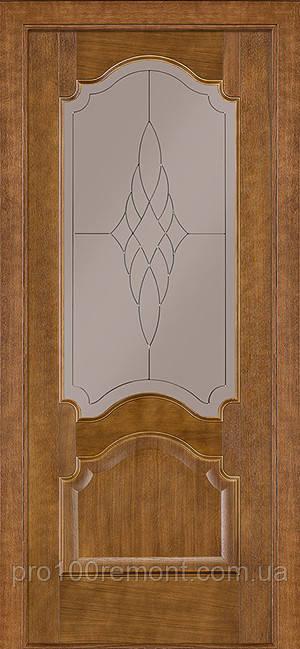 Двери Terminus Classic модель №08 ПГ/ПО (дуб темный)