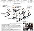 Подножки боковые площадки для Ауди Кю3 (в стиле БМВ Х5), фото 7