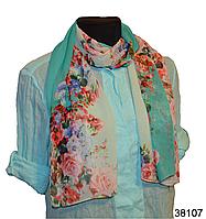 Весенний шифоновый шарф Кармен (код: 38107)