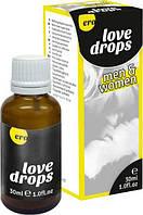 Возбуждающие капли для двоих ERO Love Drops, 30 мл.