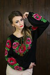 Женские вышитые блузы, футболки,туники
