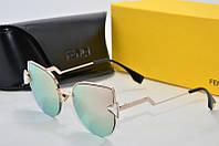 Солнцезащитные очки Fendi розовые