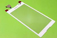 Тачскрин для Sony C2305 S39h Xperia C. белый. оригинал (Китай)