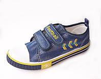 Текстильные кеды джинсовые для мальчика р.31-36 Atletico (Польша)