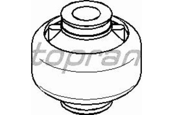 Сайлентблок переднего рычага на Renault Trafic  2001-> (задний) - Topran (Германия) - HP700 288