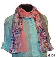 Весенний шифоновый шарф Кармен (код: 38109)