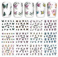 Водные наклейки слайдеры, мелкие бабочки