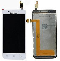 Дисплей + сенсор для Lenovo S650/S658 белый