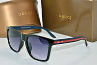 Солнцезащитные очки квадратные Gucci черные
