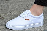 Кеды женские белые типа Vans ванс практичные, удобные. Экономия
