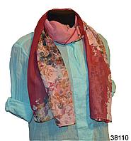Весенний шифоновый шарф Кармен (код: 38110), фото 1