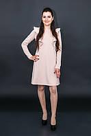 Платье с крылышками для беременных и кормящих мам бежевый, XL