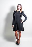 Платье с крылышками для беременных и кормящих мам черный, S
