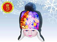 Детская шапка Вини Пух
