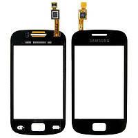 Тачскрин для Samsung S6500 Galaxy Mini 2. чрный