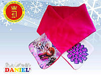 Теплые шарфы для девочек