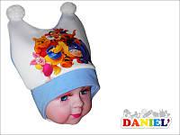 Шапки для малышей на завязках