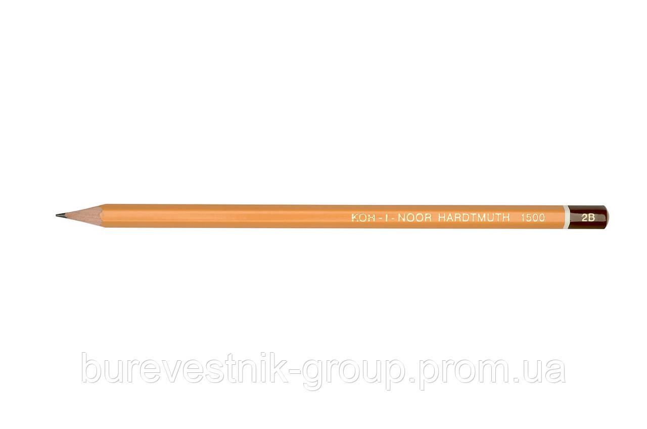 Карандаш  Koh-I-Noor 1500 2B