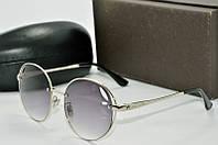 Солнцезащитные очки круглые Louis Vuiiton серые, фото 1
