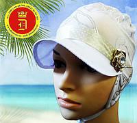 Панамки, кепки, шляпы, косынки оптом для девочек